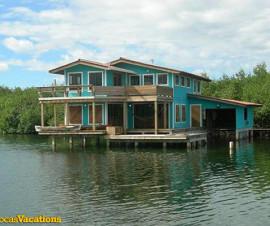 Alquiler Casa Sobre el Mar Panama Caribbean house rentals
