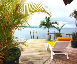 casa sobre el mar Oceanfront Rental Bocas del Toro