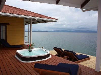 alquiler casa sobre el mar Over the Water House in Bocas