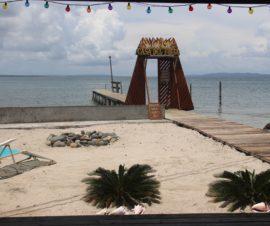 Beach on Isla Carenero